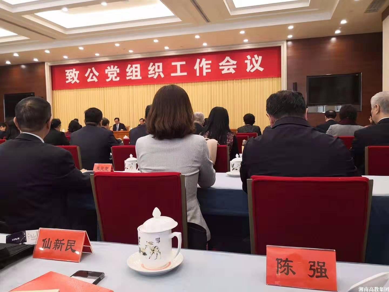 """陈强被致公党中央授予""""优秀党员""""荣誉称号;万钢主席亲切接见并寄予厚望"""