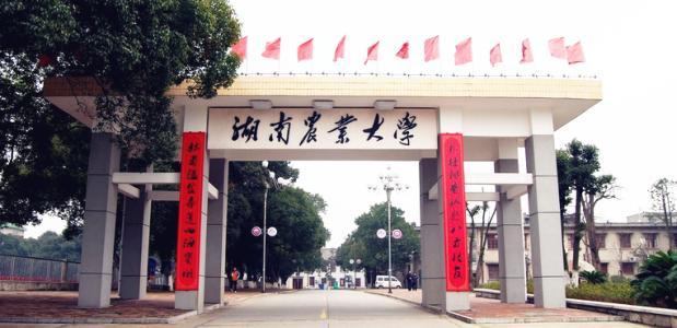 长沙湖南农业大学2020年成人高考招生简章
